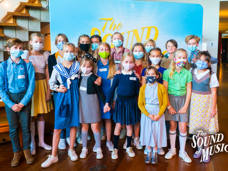 De Vonn Trapp-kinderen voor 'The Sound of Music' zijn gekozen