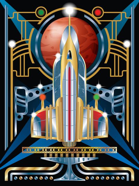 Art Deco Rocket