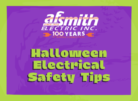Halloween Electrical Safety Tips from A.F. Smith Electric
