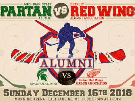 IBEW, NECA sponsor Spartans versus Red Wings Alumni Hockey Game benefiting homeless services