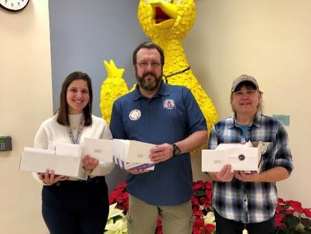 IBEW 252 and NECA Bring Holiday Cheer to Kids at Mott Children's Hospital