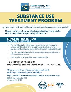 HEGIRA HEALTH Substance Use Treatment Ea