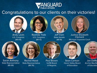 Vanguard Clients Score Election Day Victories Across Michigan