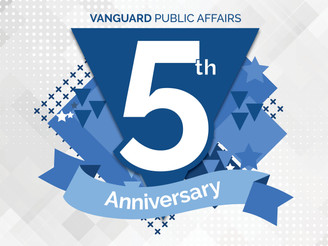 Vanguard Public Affairs Celebrates Five Year Anniversary, Announces Plans For New Office Space in De