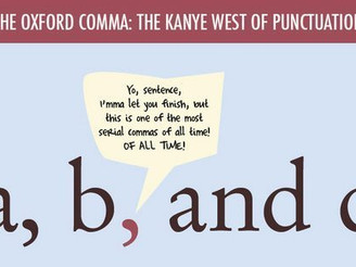 Oxford Comma: The Kanye West of Punctuation
