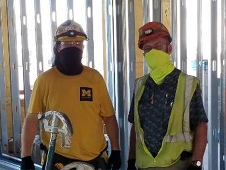 NECA Contractors and IBEW Electricians Lead the Way in Job Safety During COVID-19 Pandemic
