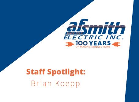 Staff Spotlight: President Brian Koepp