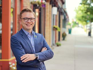 Ingham Clinton Educators PAC Endorses Peter Spadafore for Lansing City Council Bid