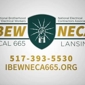 IBEW NECA 665 Supports Local Health Care Heroes