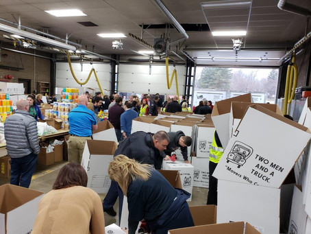 IBEW 665 and NECA Lansing Division Give Back to Community Through 'No Senior Without Christmas'