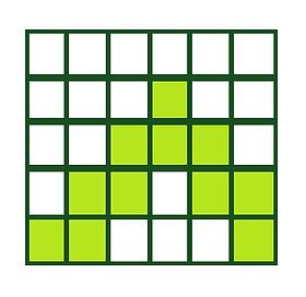 A Zig-Zag Pattern of Garter & Stockinette Stitch