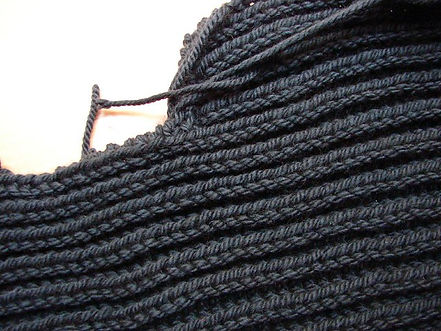 Fisherman's Rib Stitch Pattern