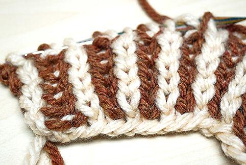 2-Colour Brioche Stitch