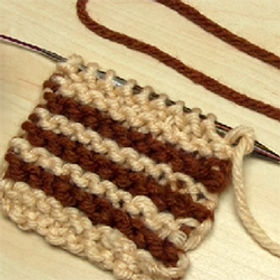 Two Ways to Change Yarn Colour & Add Single Stripes