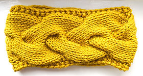 A Knitting Pattern for a Cosy Cabled Cowl