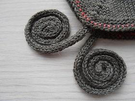 Circular Knitting without using Circular Needles!