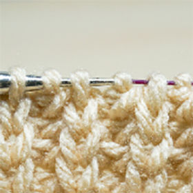 A Chunky & Comfy Ribbing Pattern