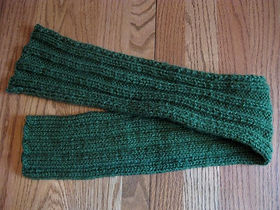 Stretchy Bands of Knit & Purl Stitches