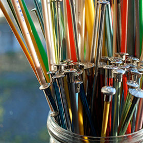 The Different Types & Sizes of Knitting Needles