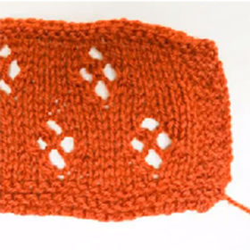 A Pretty Lace Knitting Pattern Ideal for Larger Projects