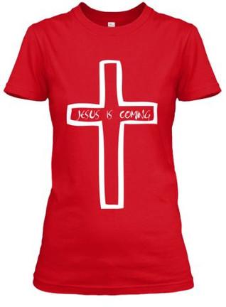 Jesus Is Coming Cross