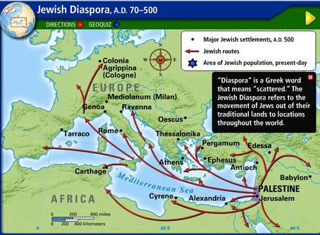 JEWISH DISPERSION
