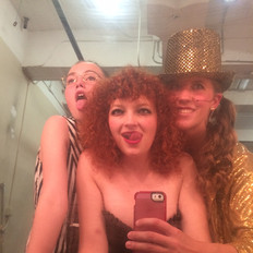"""Backstage at """"Rocky Horror Show"""""""