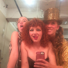 "Backstage at ""Rocky Horror Show"""
