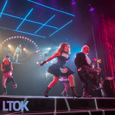 "Magenta in ""Rocky Horror Show"" at Lyric Theatre of Oklahoma"