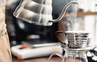 Café goutte à goutte frais