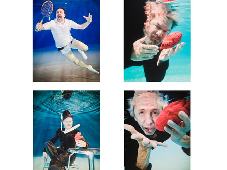 Te gast: Pieter Clicteur 'Underwater Portraits'  28 NOV - 20 DEC 2015 >> scroll for English version