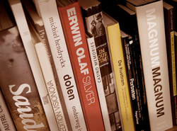 Collection of photo art books