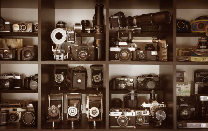 Detail camera collection Yvon