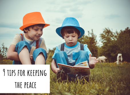 9 Tips for Keeping the Peace