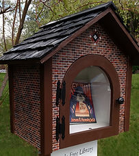 Little Free Library Brick 814 W 17th Spo