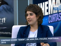 Interview with Ana Pio, hosted by RTP 2 TV