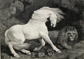 A Horse Affrighted at a Lion