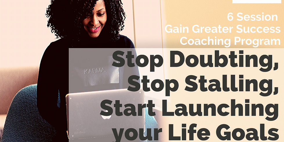 6 Session Gain Greater Success Course