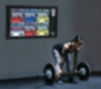 Deadlifts MyZone Heartrate Monitoring