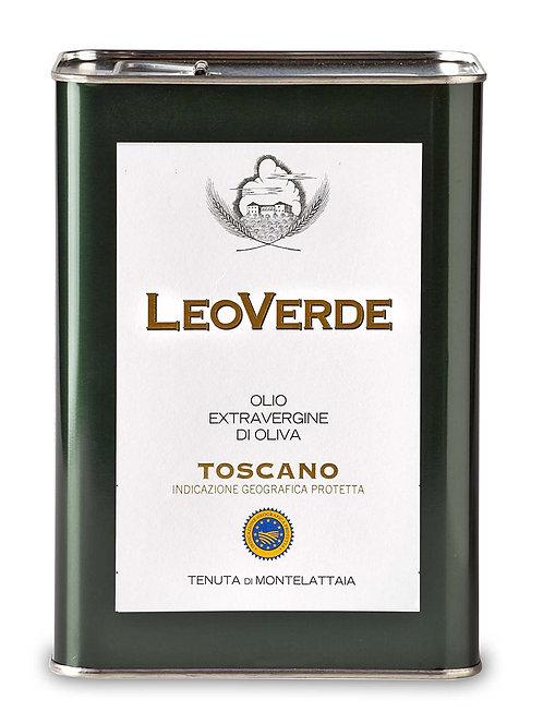 LeoVerde Olio Extra Vergine di Oliva Biologico Toscano IGP - 3lt