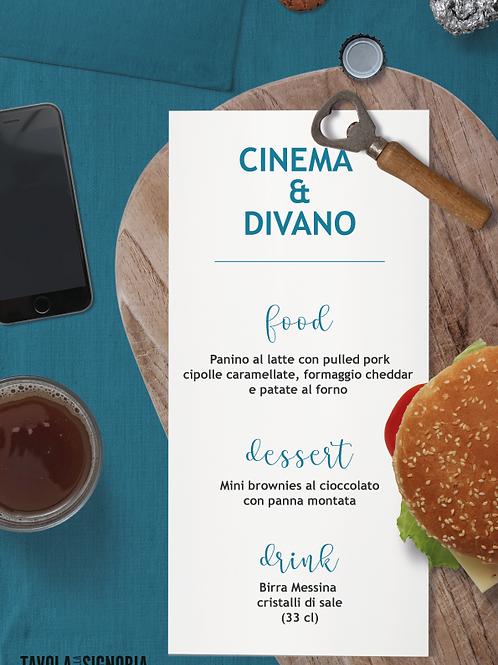 MENU CINEMA & DIVANO