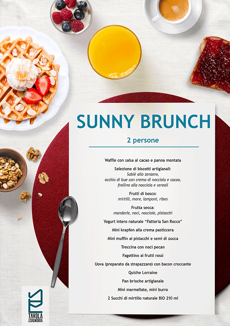 Sunny Brunch (2 persone)