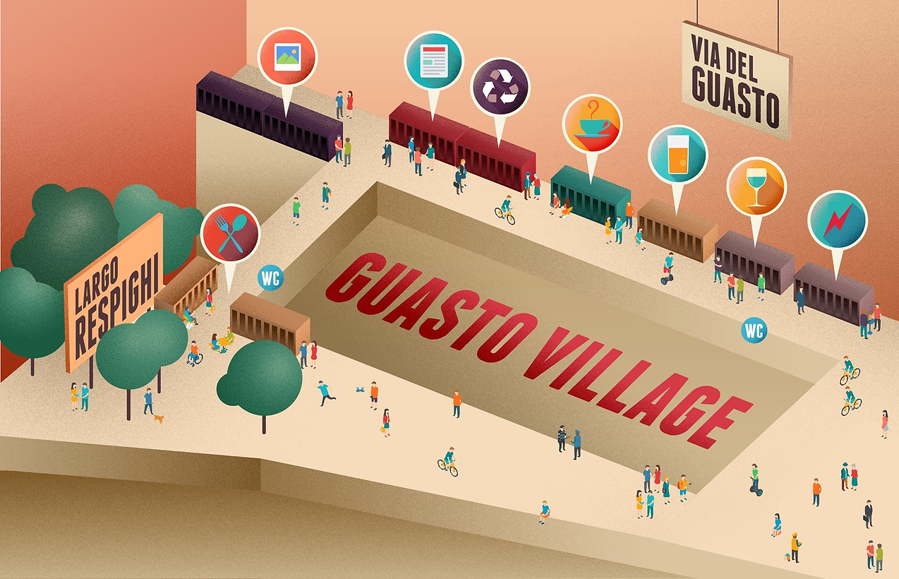 map plan mappa planimetria city guide guasto village