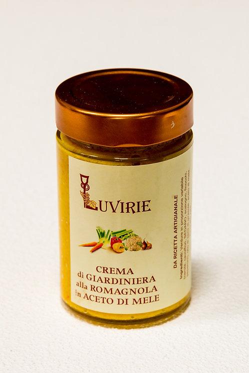 Crema di giardiniera alla romagnola - 210 gr