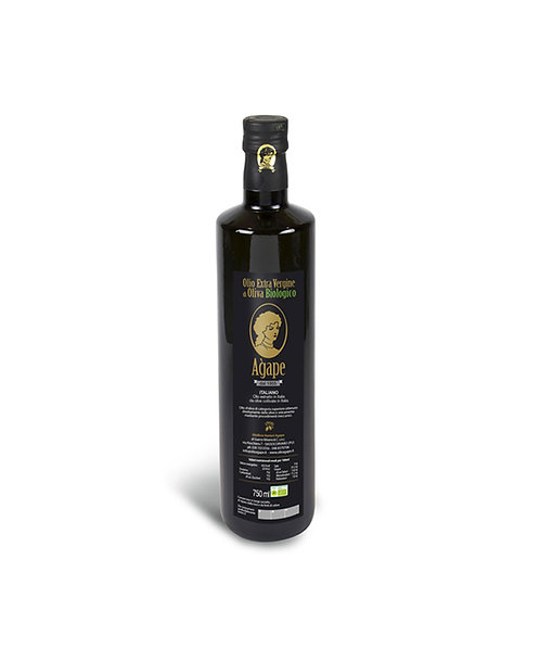Agape Olio Extravergine Biologico Bottiglia 0.50 LT