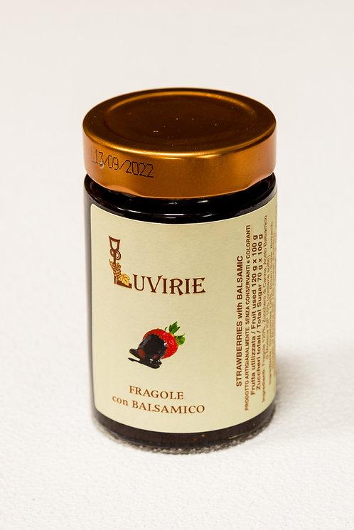 Fragole con balsamico - 240 gr