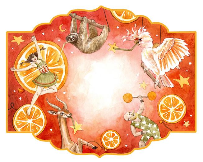 Appelsinbrus