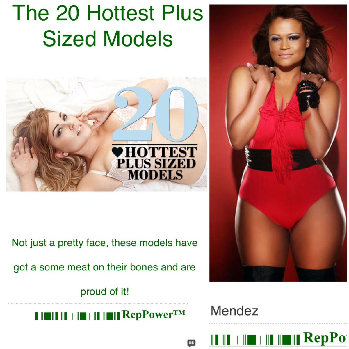 20 Hottest Plus Sized Models