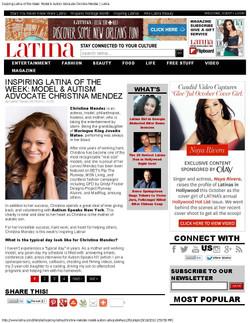 Inspiring Latina - Latina Magazine