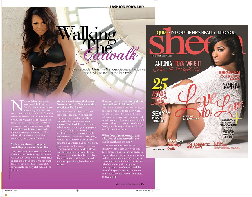 Sheen Magazine March / April 2014